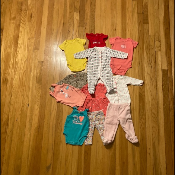 Baby girl clothes bundle Size 3 Months